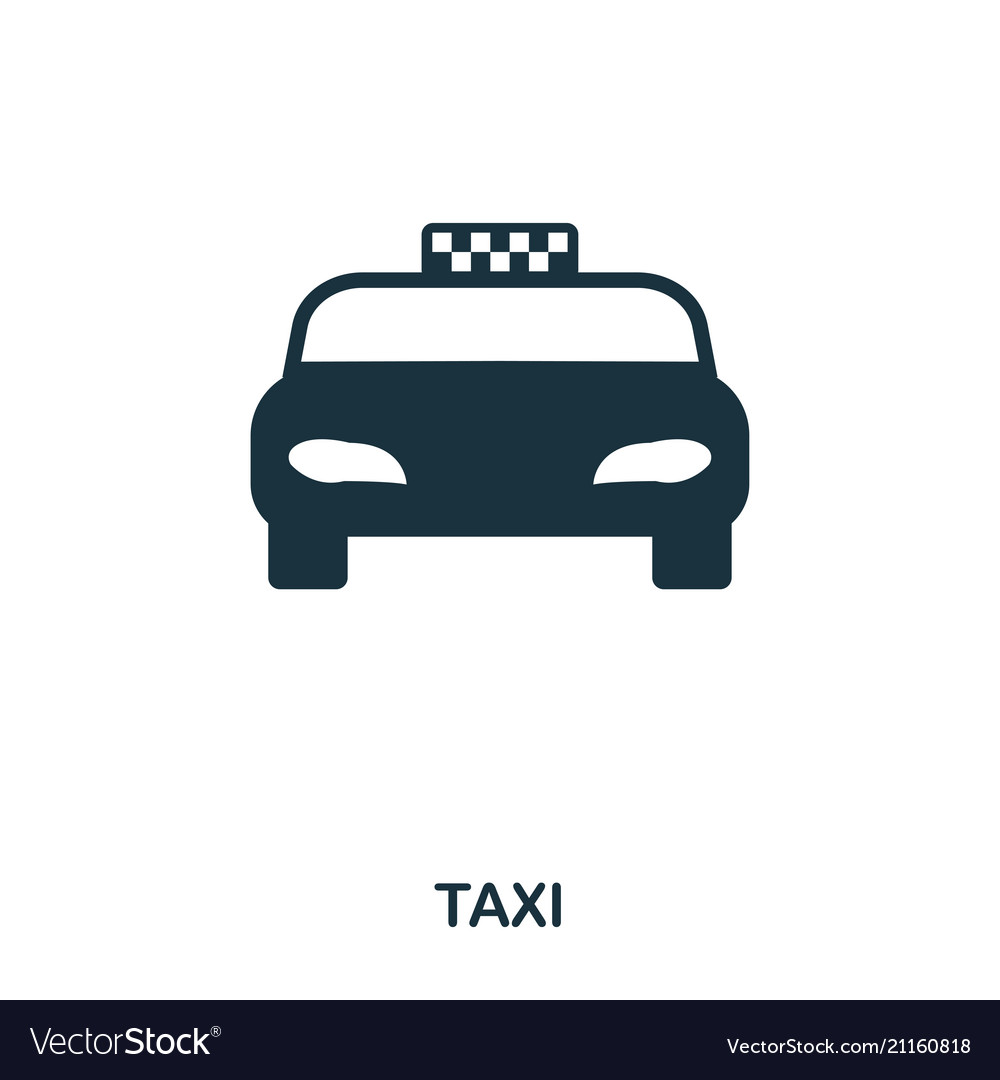 Taxi icon mobile app printing web site icon