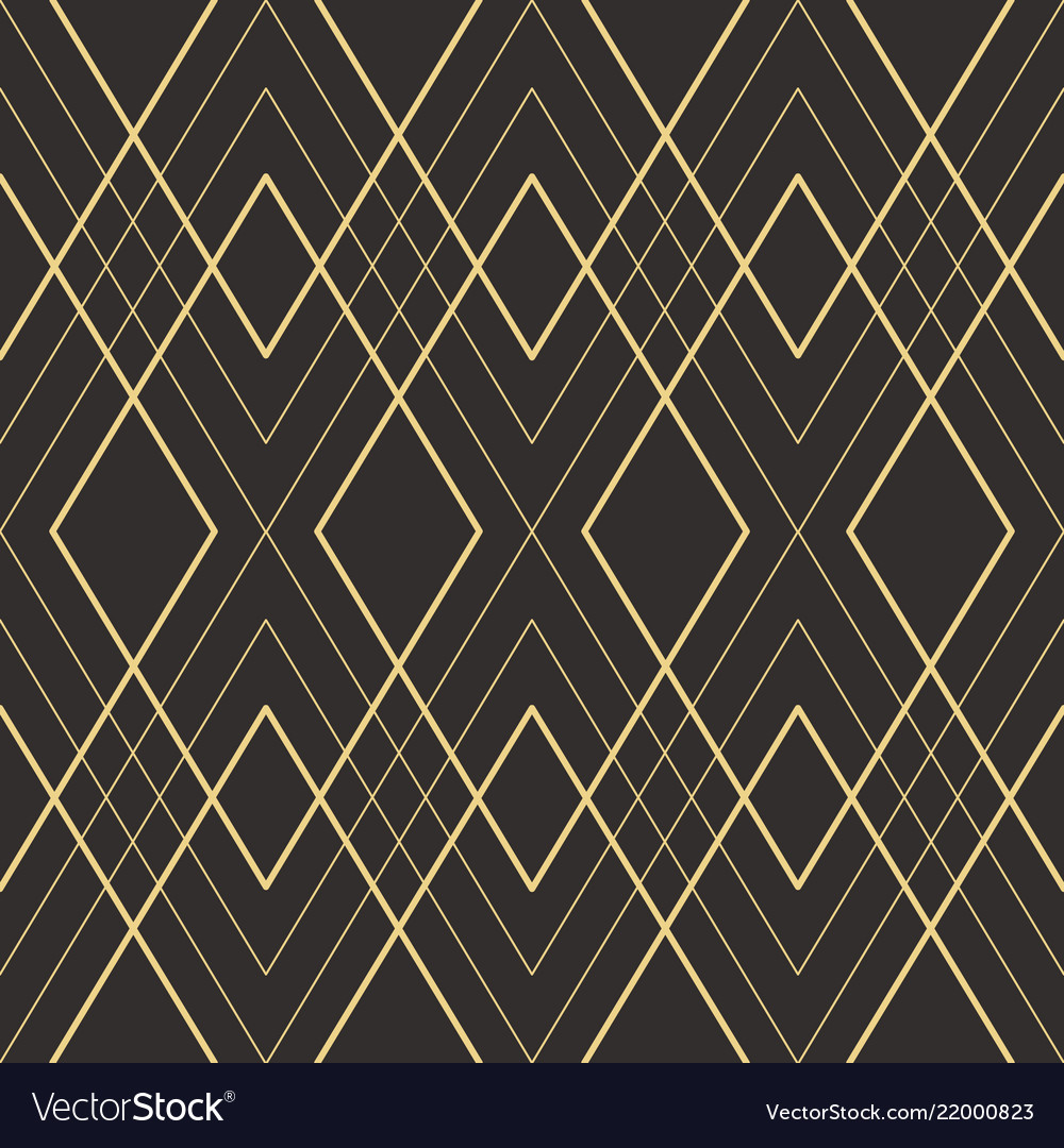 Abstract art deco seamless pattern 21