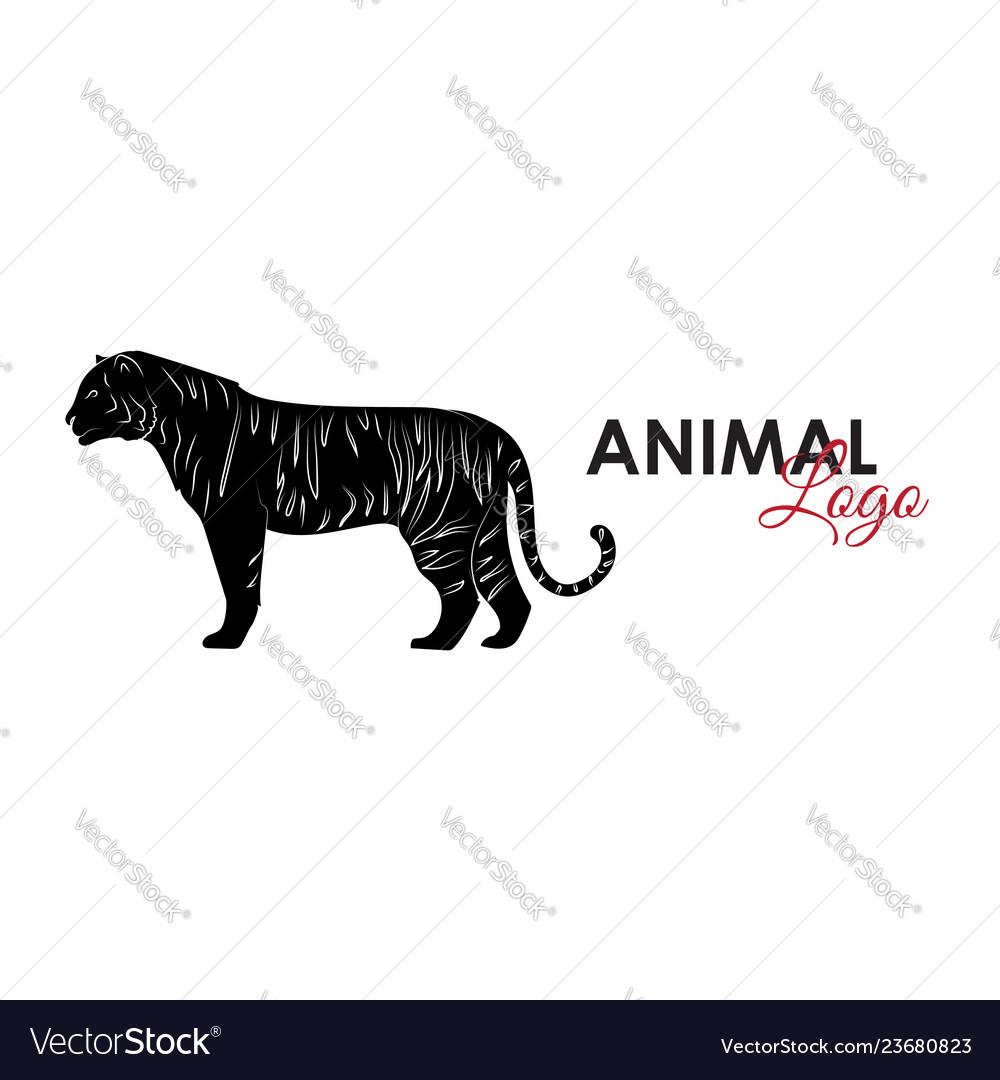 Tiger icon logo symbol