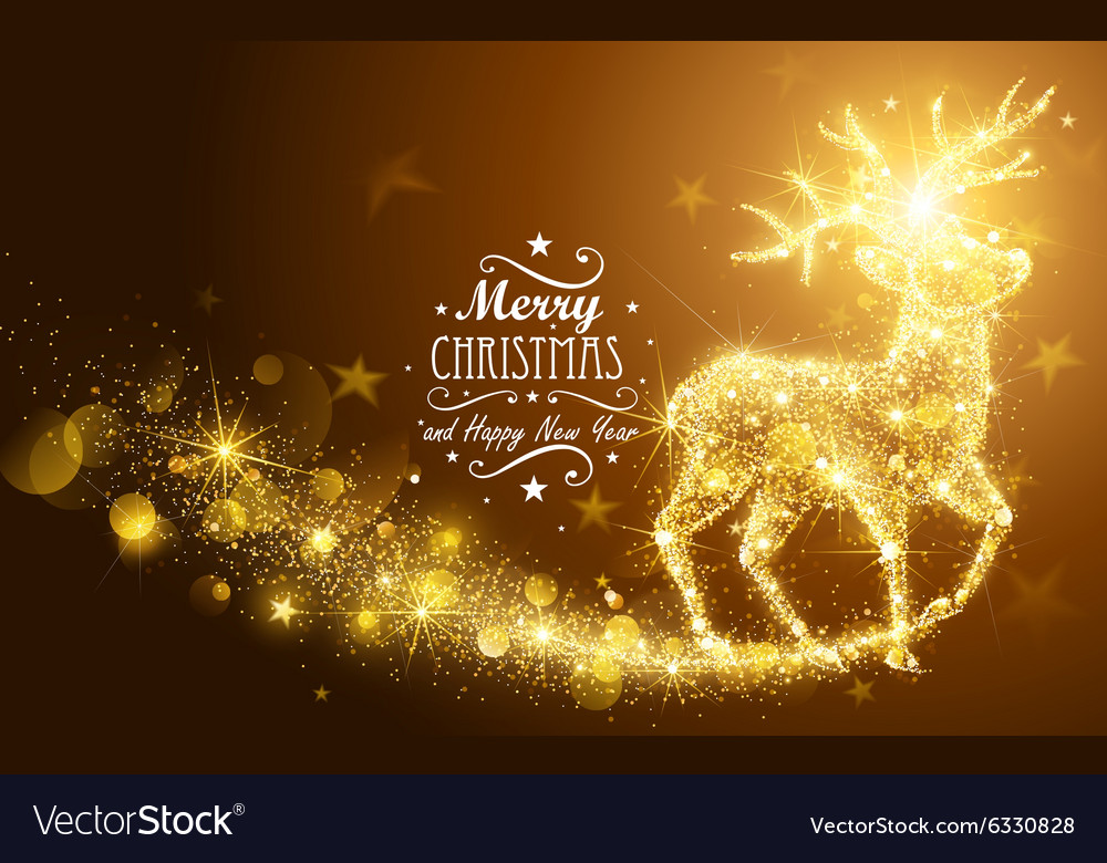 Christmas Magic Deer