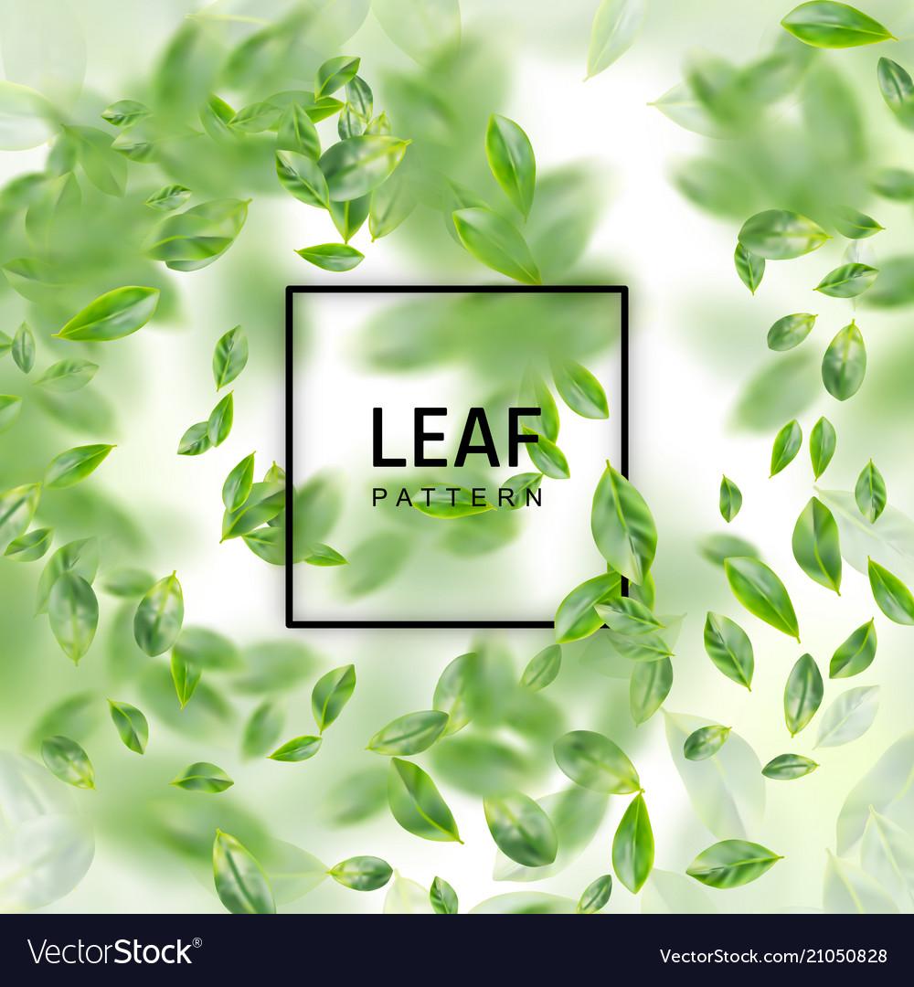 Leaf realistic background