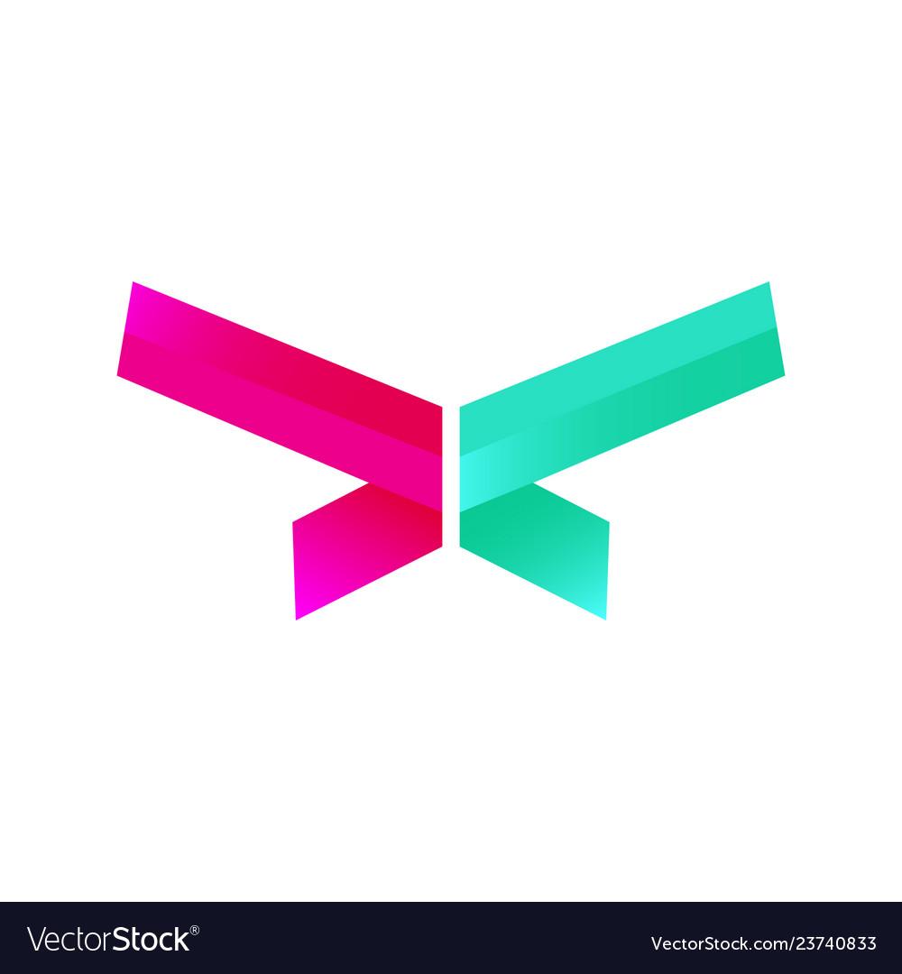 Abstract modern design logo