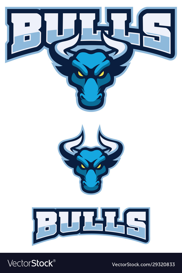 Bull sport mascot
