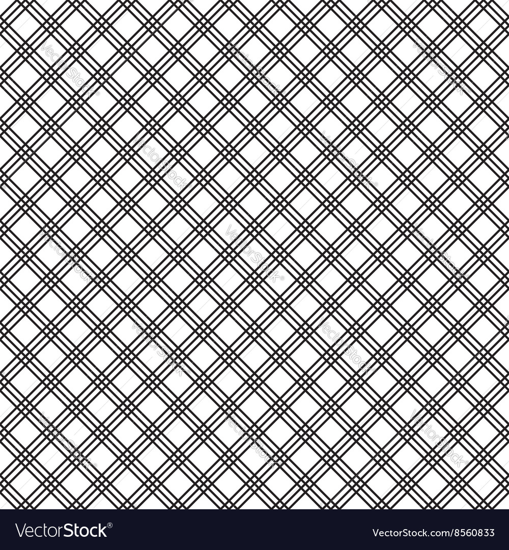 Classic abstract geometric seamless pattern