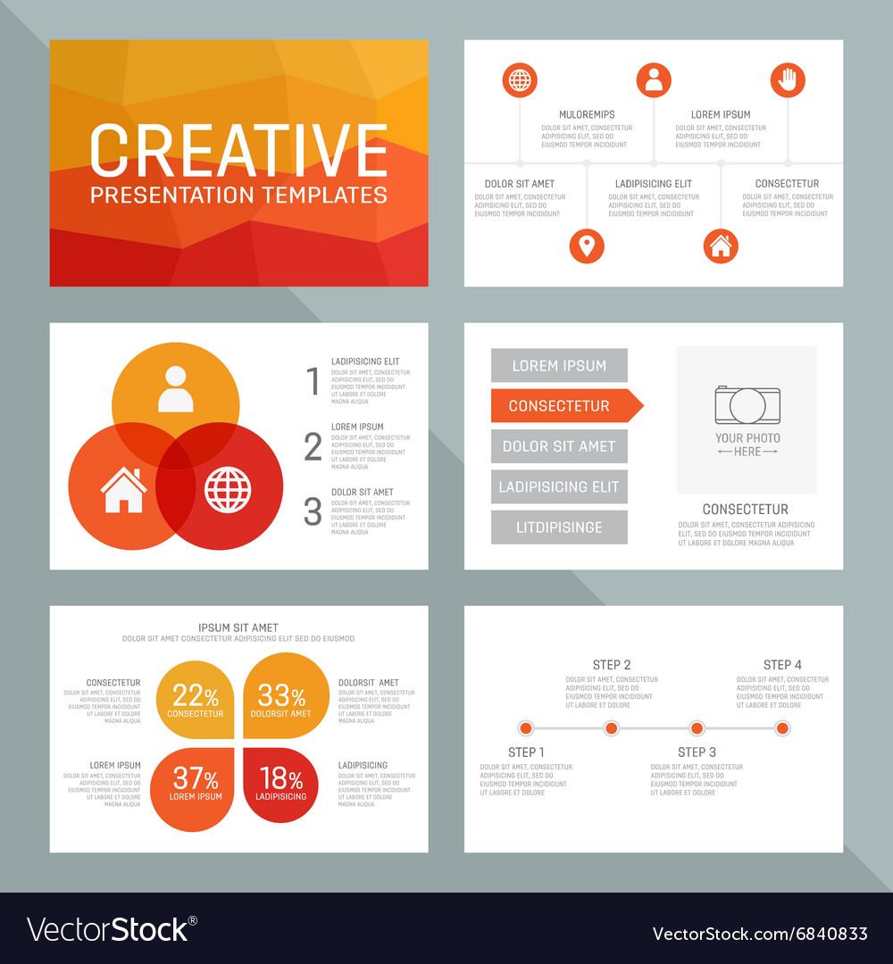 Template for multipurpose presentation
