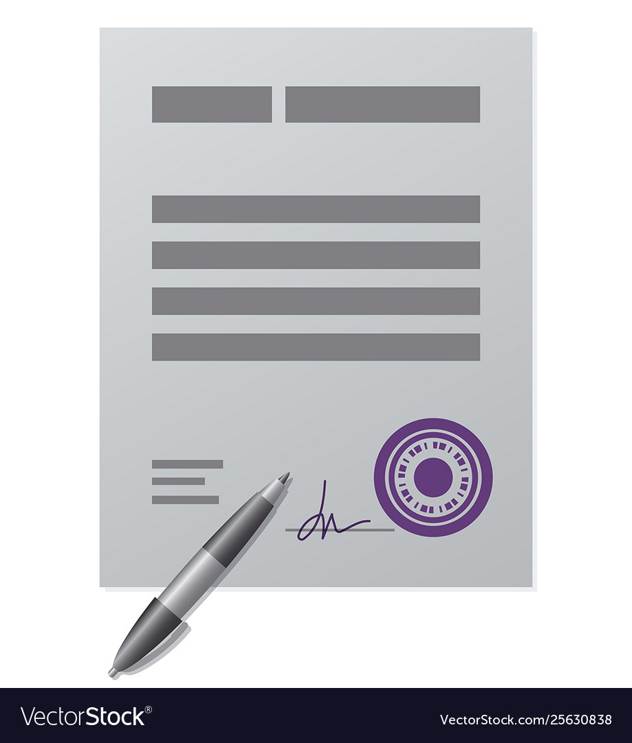 Business finance contract