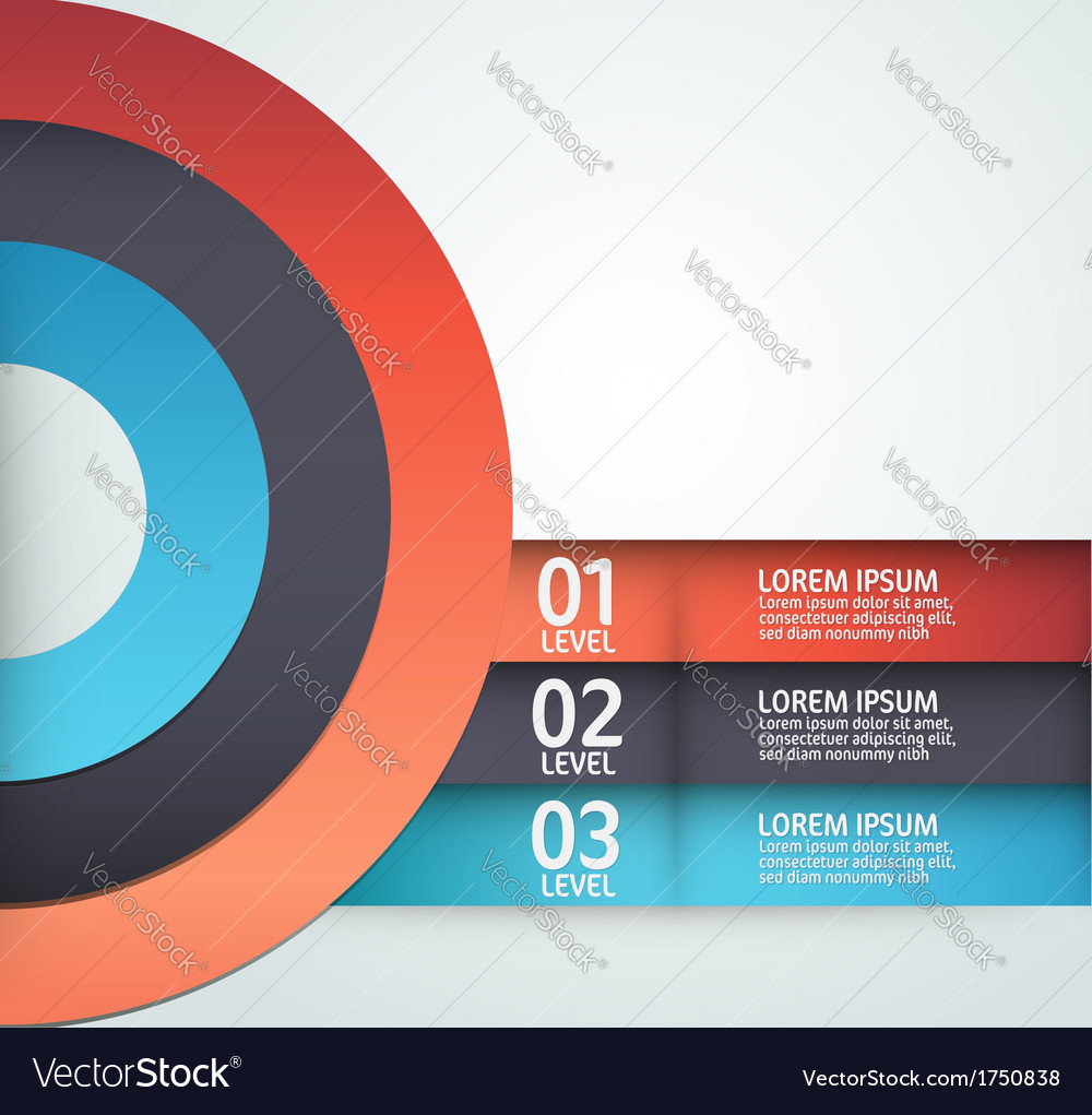 modern layout design royalty free vector image