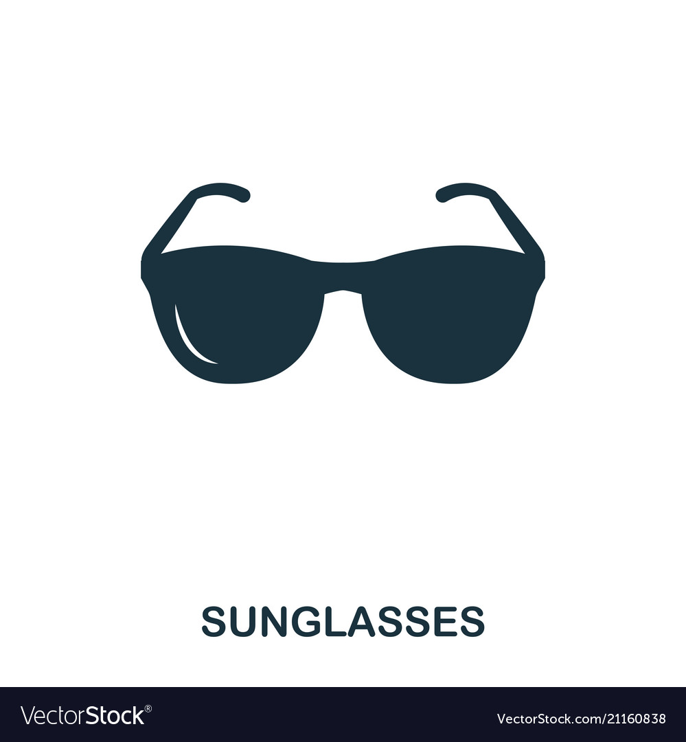 Sunglasses icon mobile app printing web site