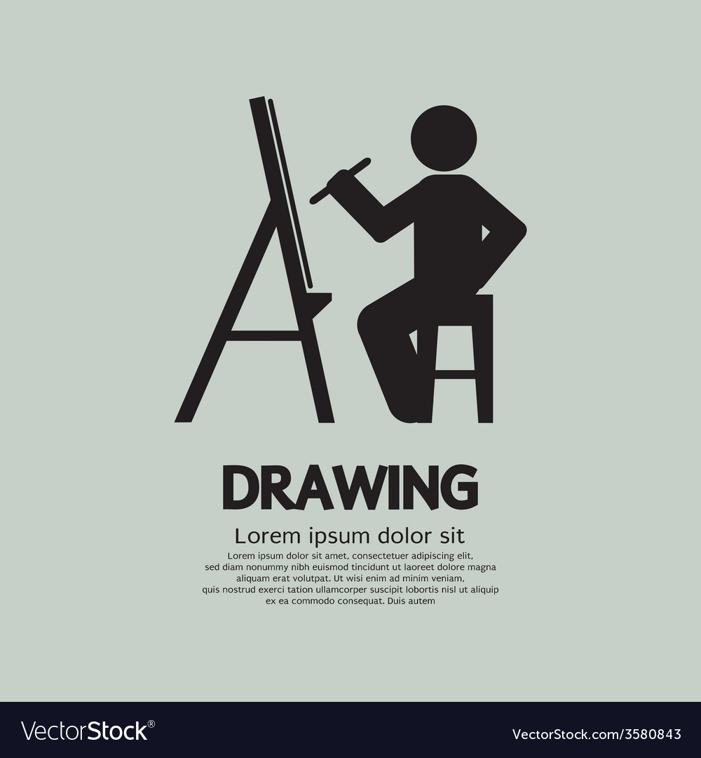 Artist Drawing Picture Symbol