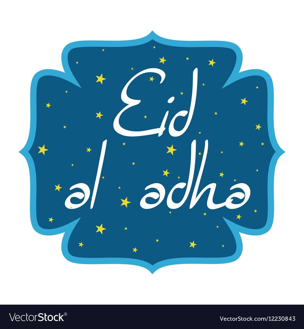 Holiday named Eid Al Adha Festival of