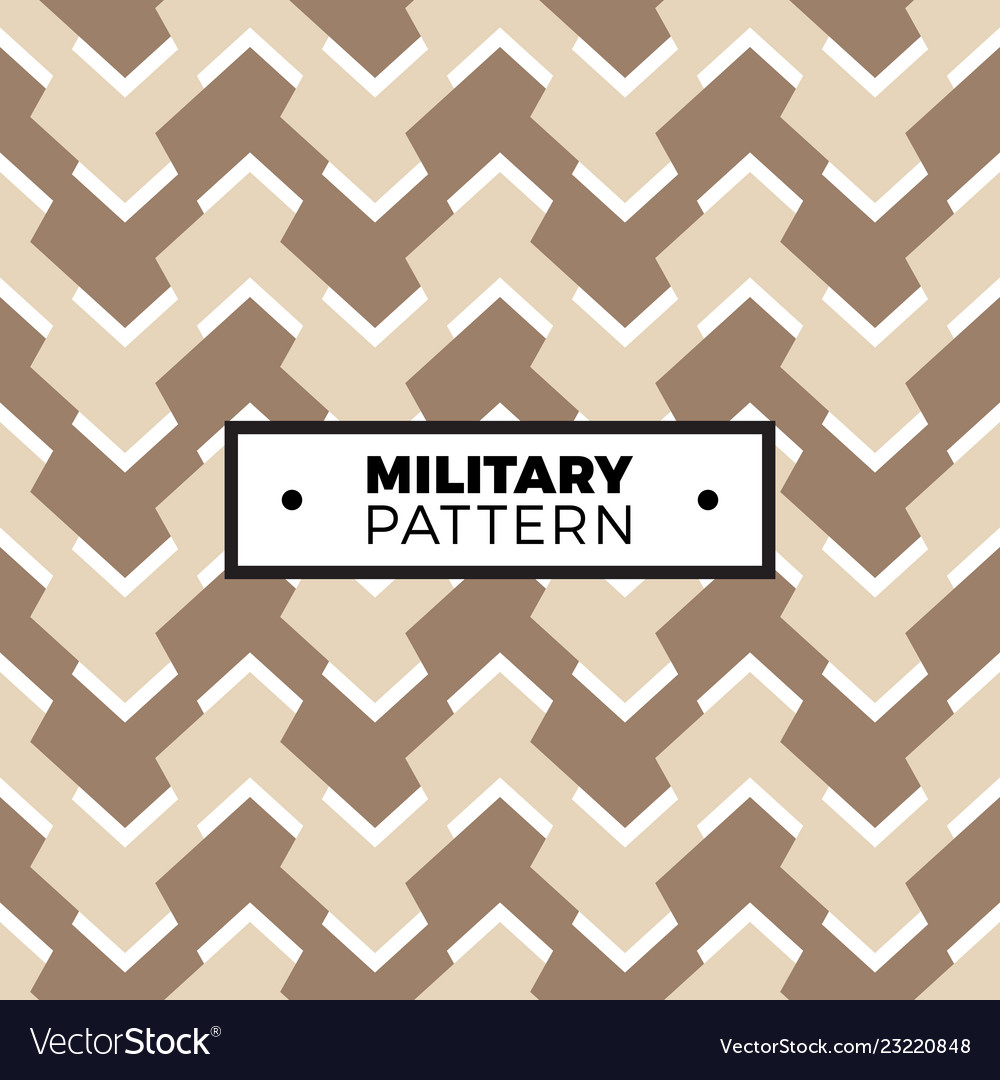 Camouflage seamless pattern with geometric