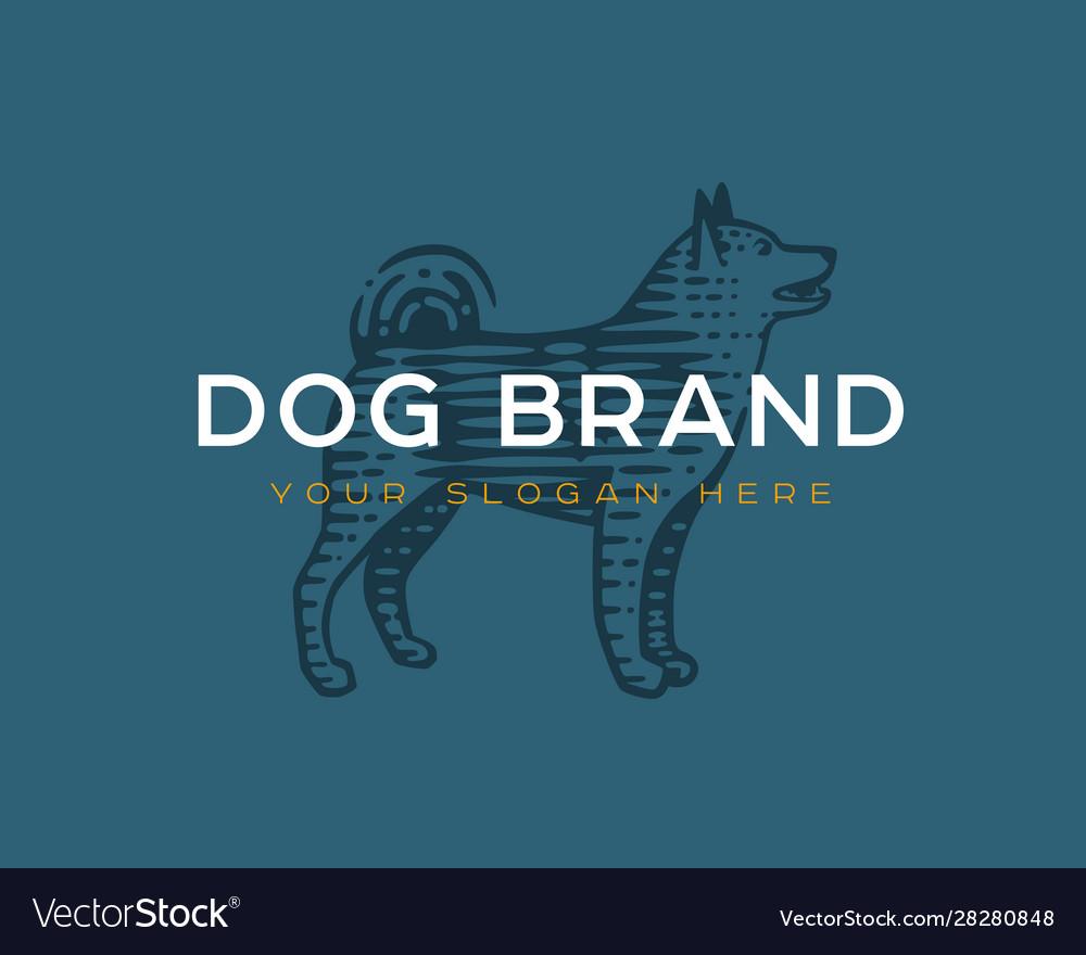 Logotype dog