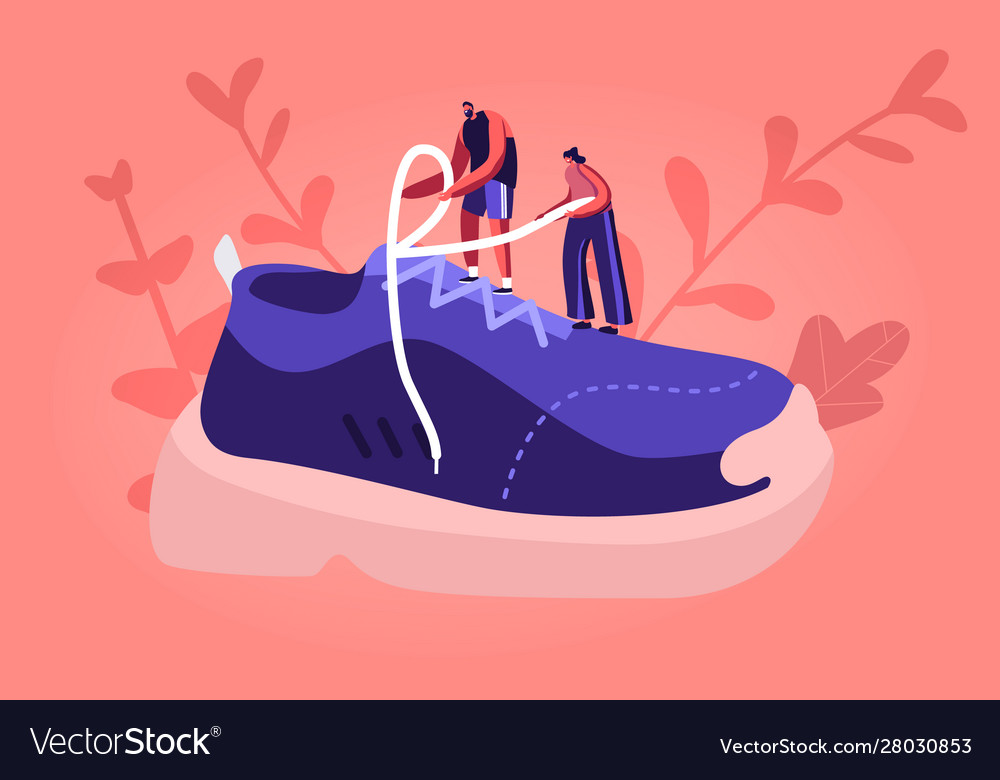 Sportswear and shoes for training fashion concept