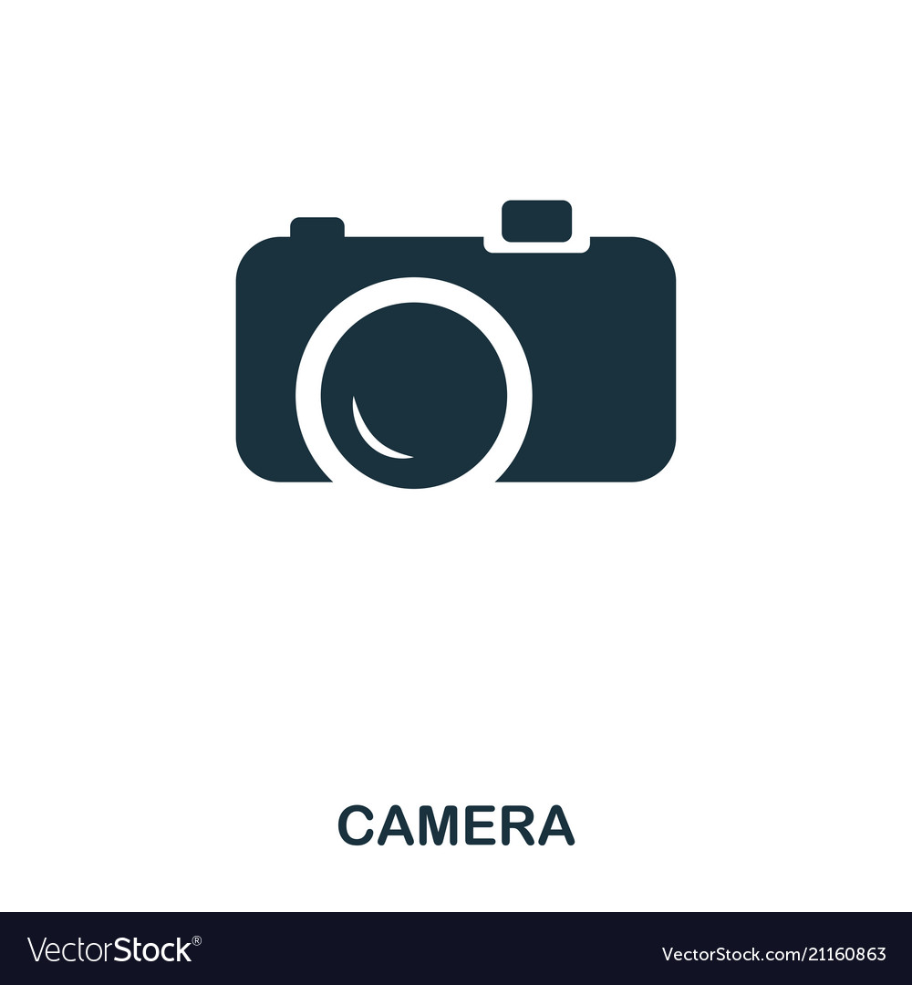 Camera icon mobile app printing web site icon