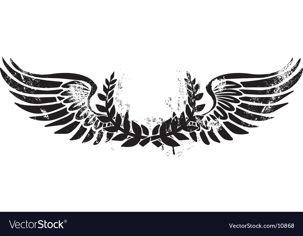 Army laurel emblem