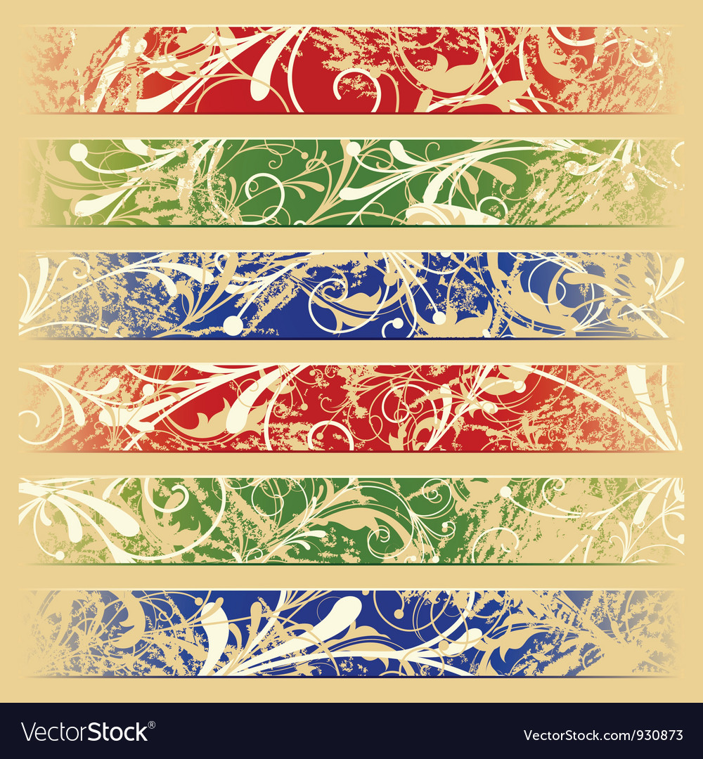 Banners for web vector image