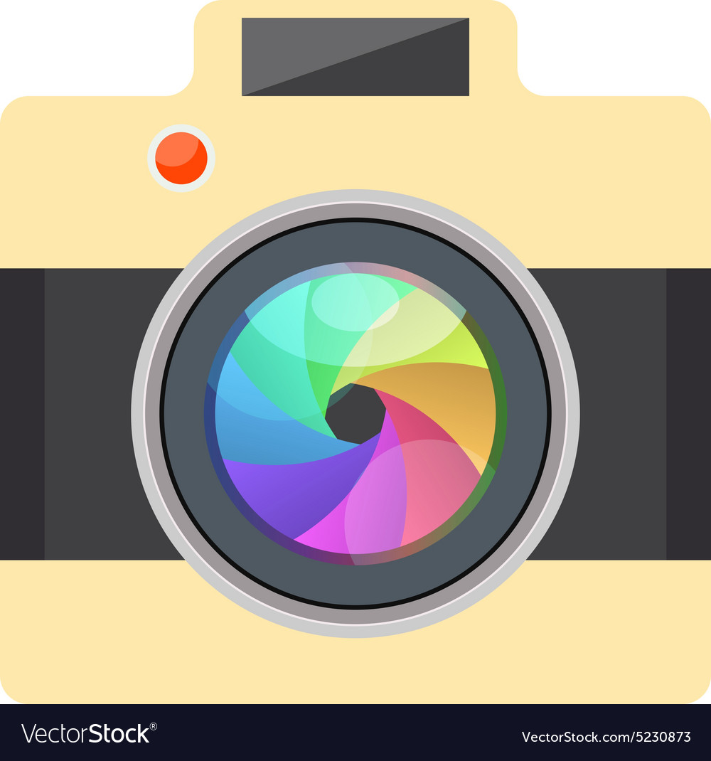 Camera Easy Picture - Flat Design - Infographic