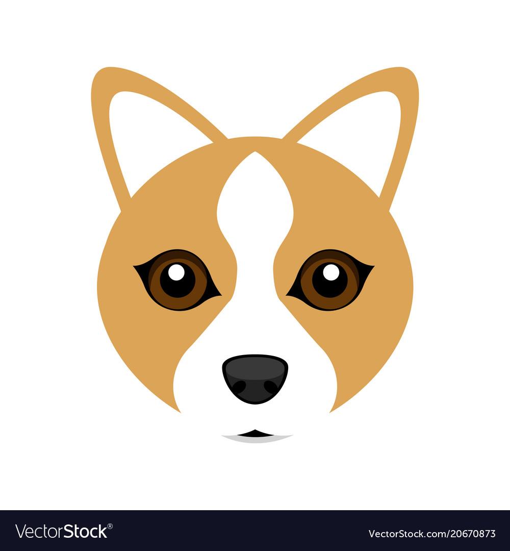 Cute welsh corgi dog avatar