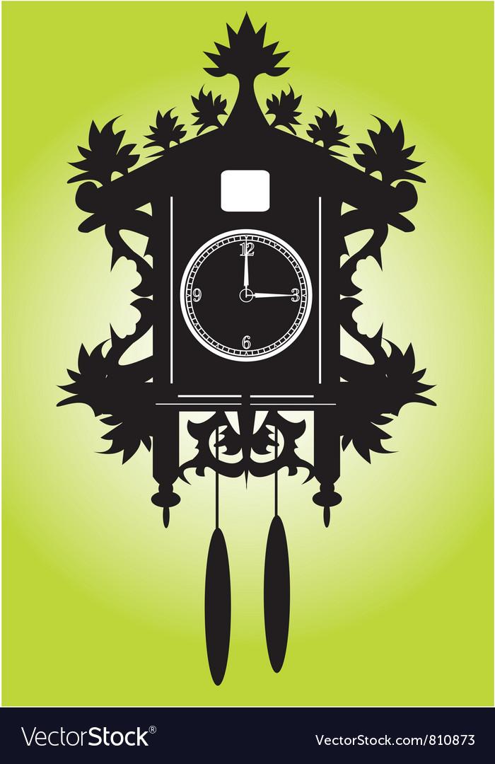 Pendulumclock vector image
