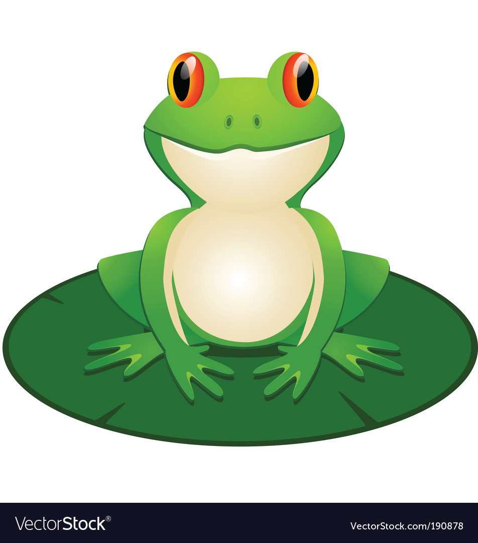 frog royalty free vector image vectorstock rh vectorstock com frog vector free download frog vector images