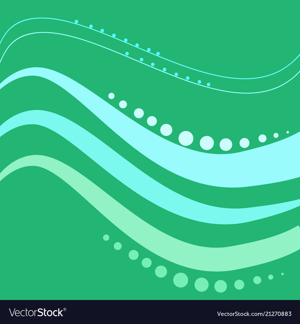 Abstract wavy line modern background