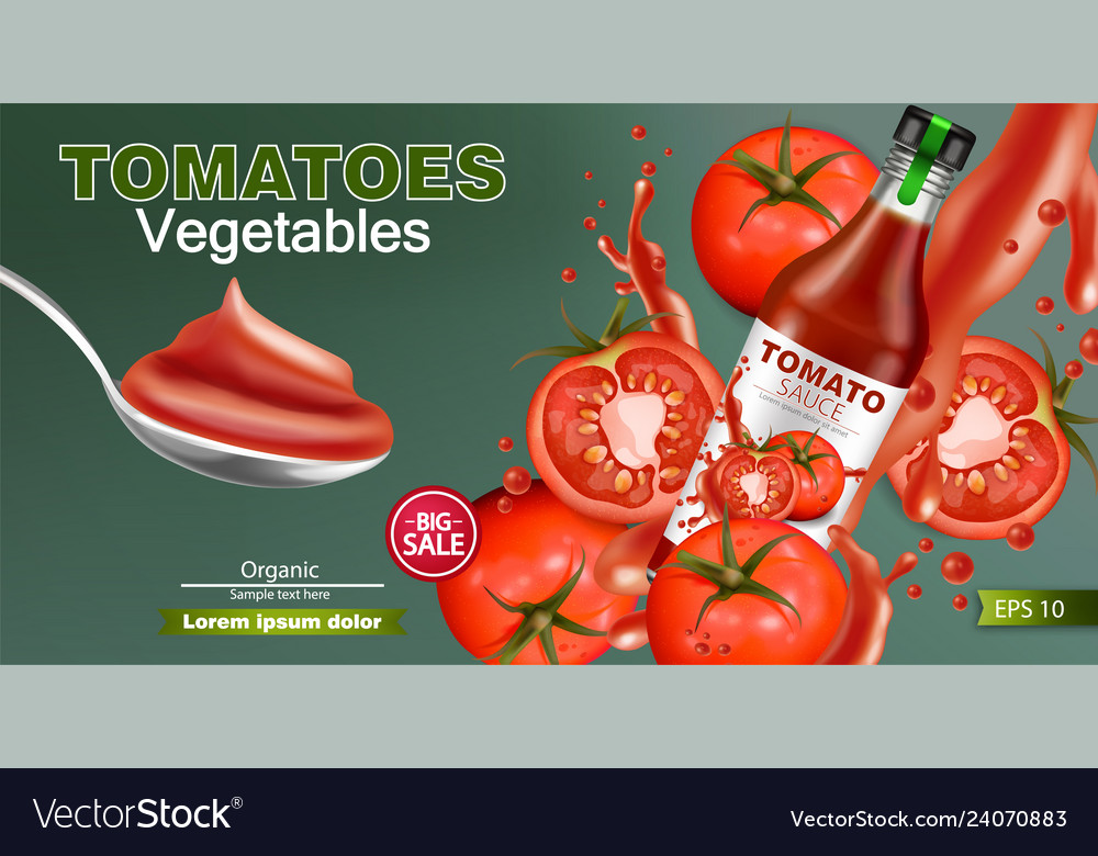 Ketchup bottle realistic mock up product