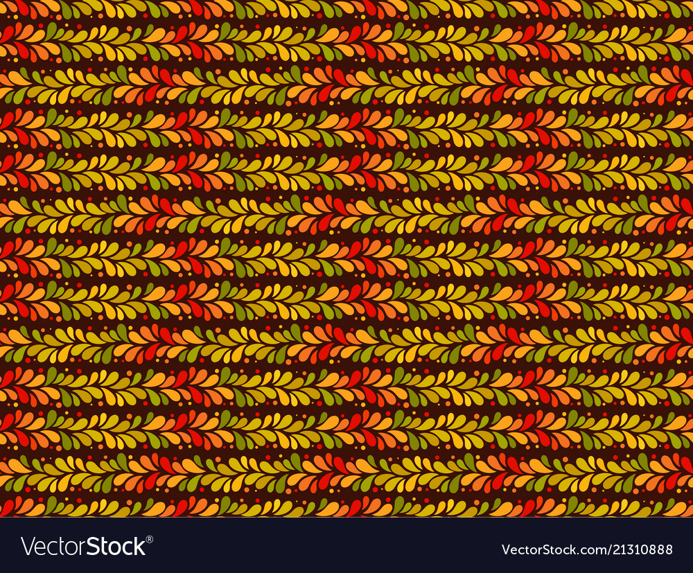 Autumn pattern seamless background leaf