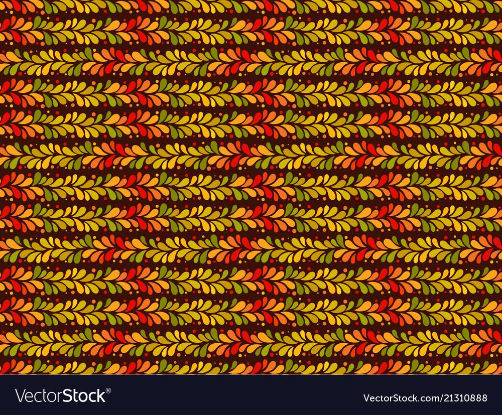 Autumn pattern seamless background leaf