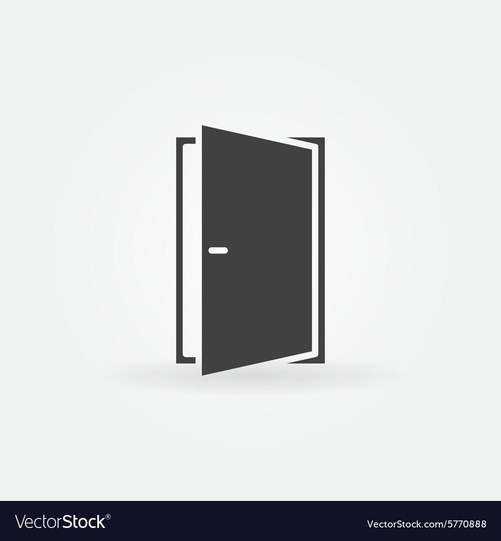 Door icon or logo