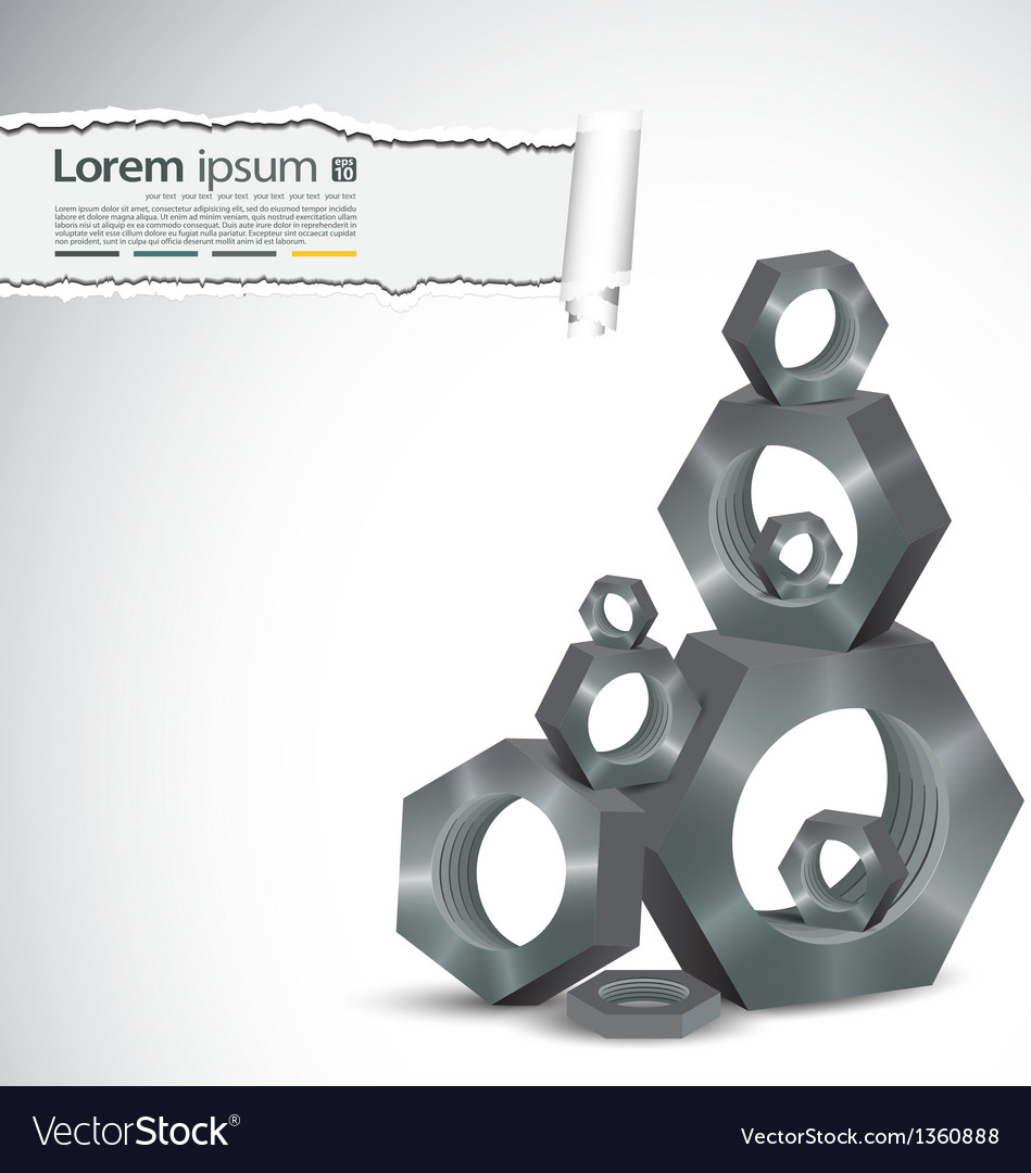 Modern metal background
