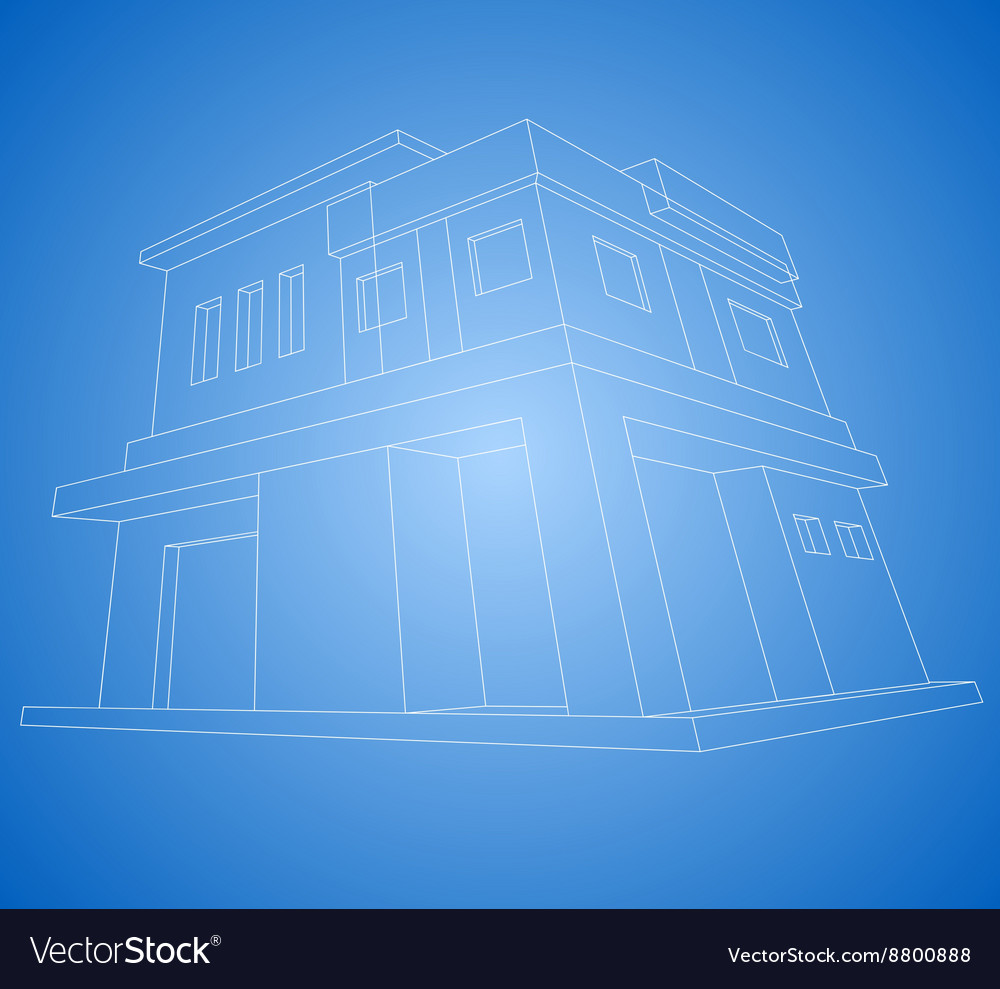 New house wireframe