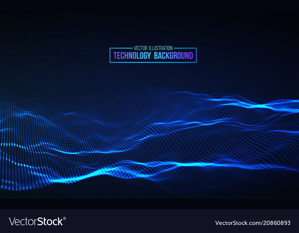 Abstract technology background background 3d grid