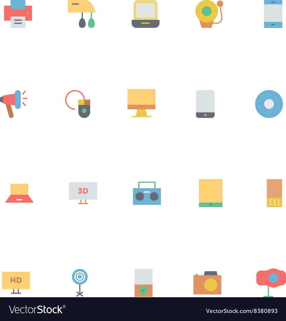 Electronics Colored Icons 1