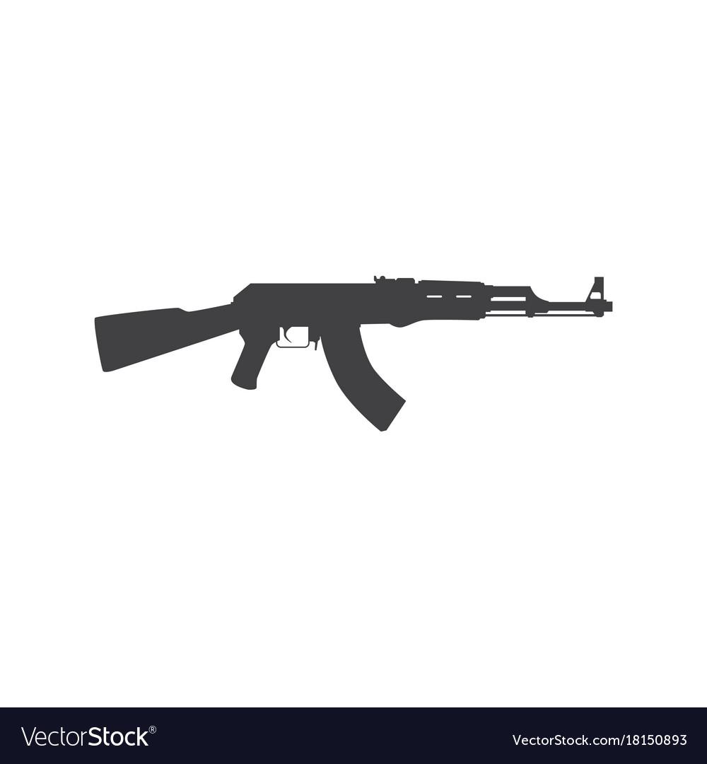 Russian assault rifle icon
