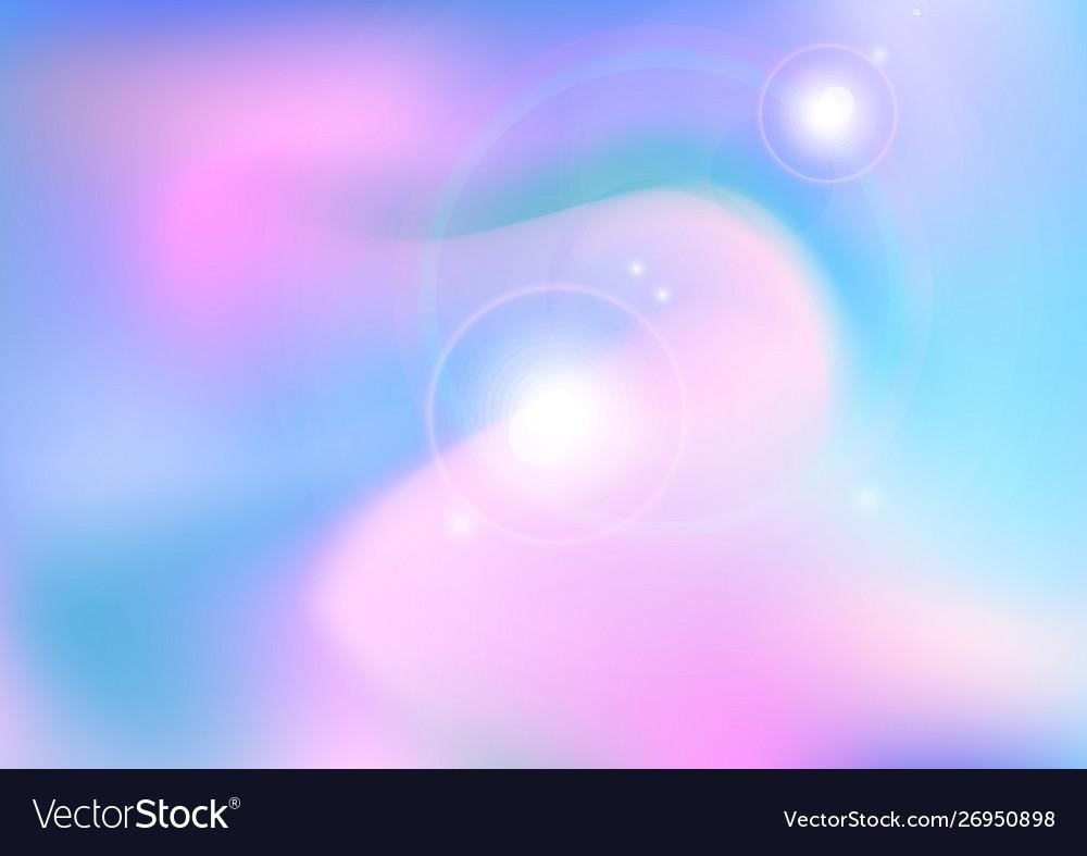 Sun light and clounds soft pastel color