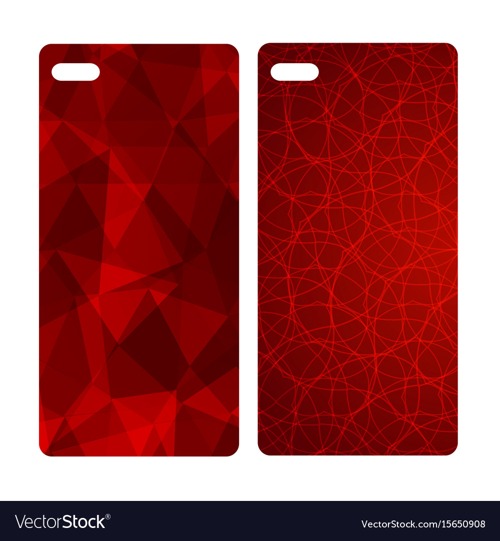Abstract blur bright red background for mobile