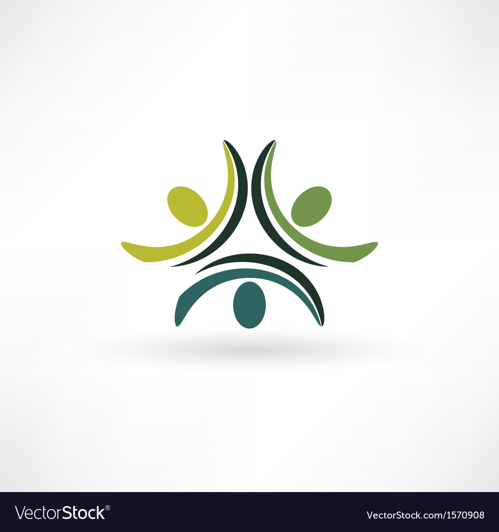 People Connected Symbol