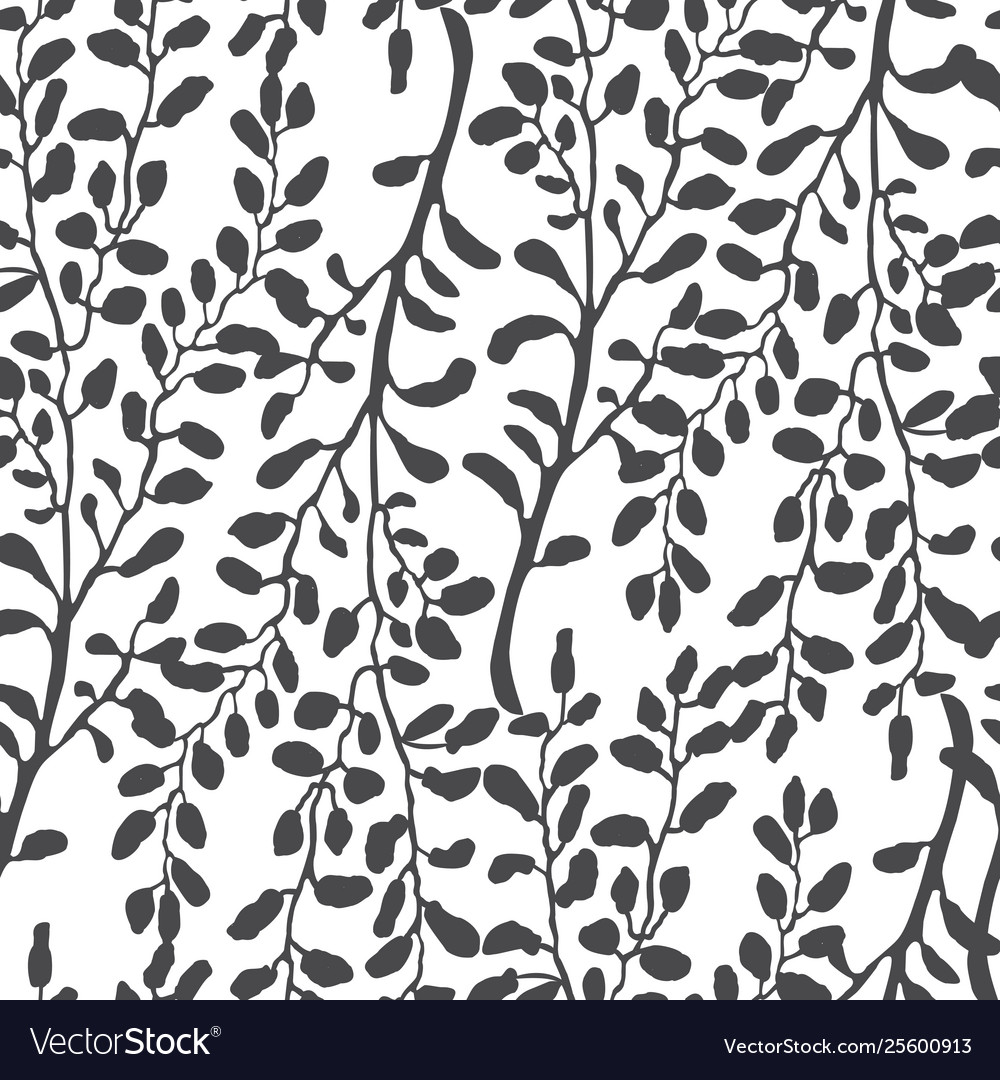 Seamless pattern with hand drawn of