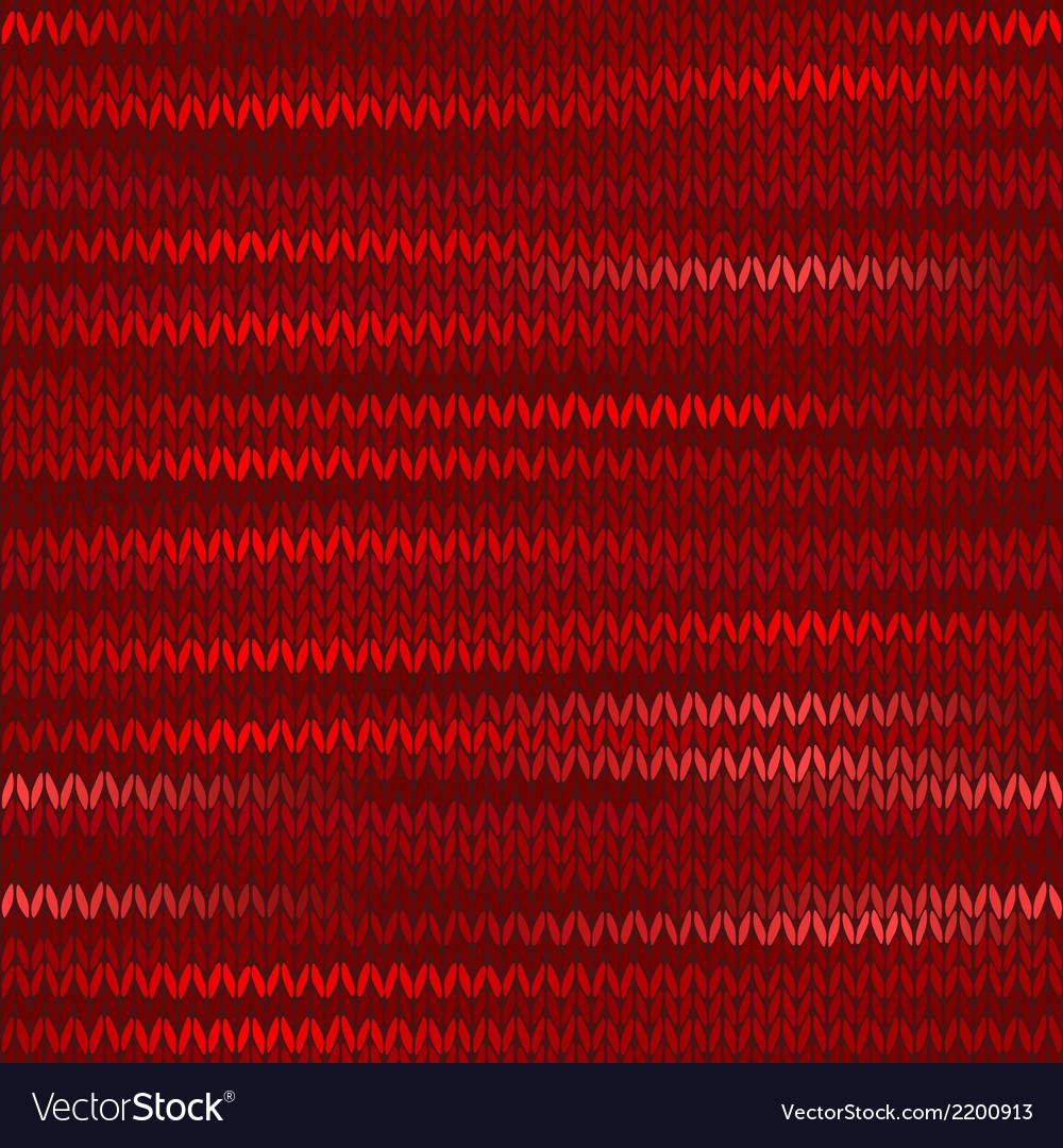 Style Seamless Knitted Melange Pattern Red Color