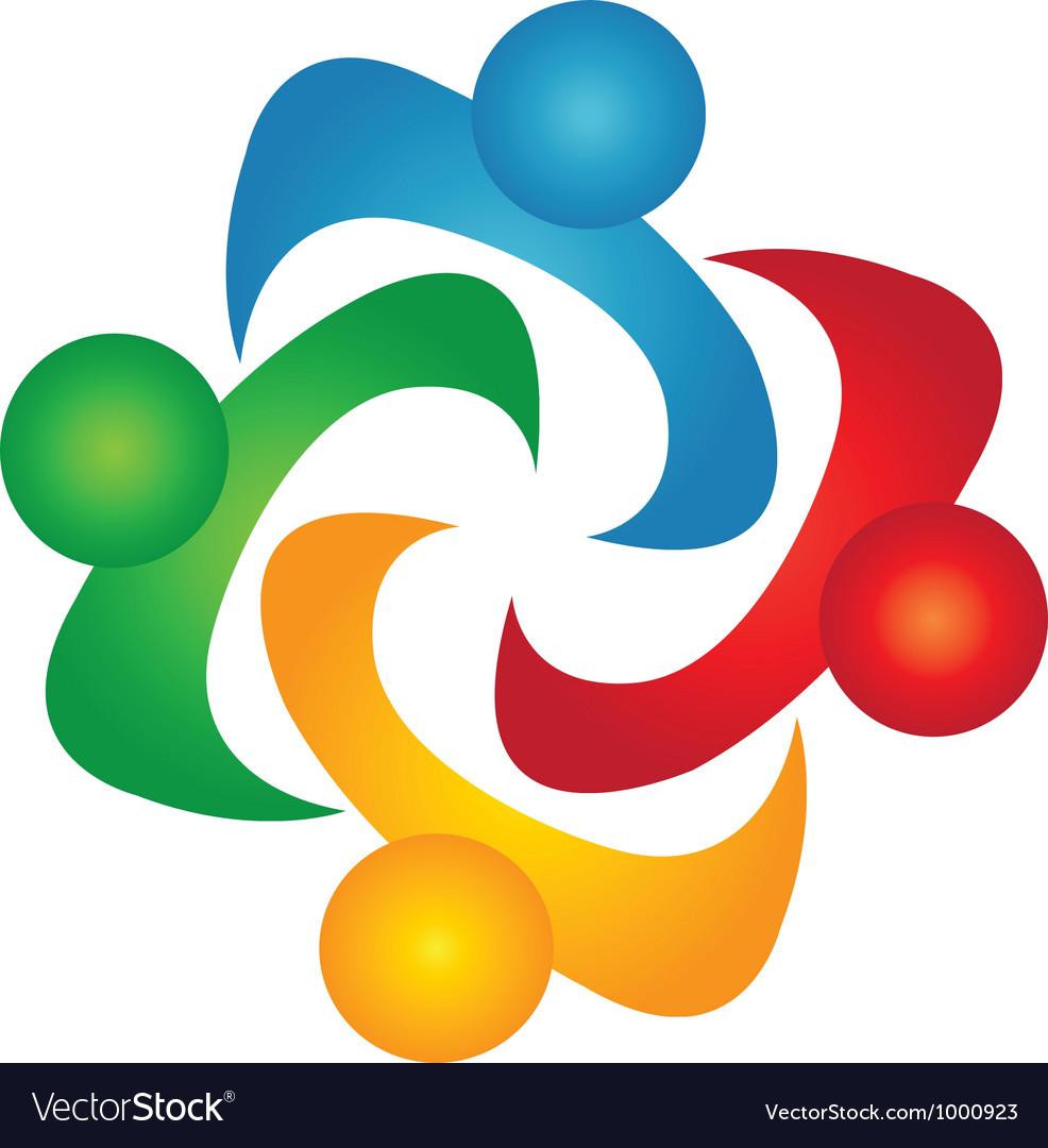 Diversity teamwork vector image