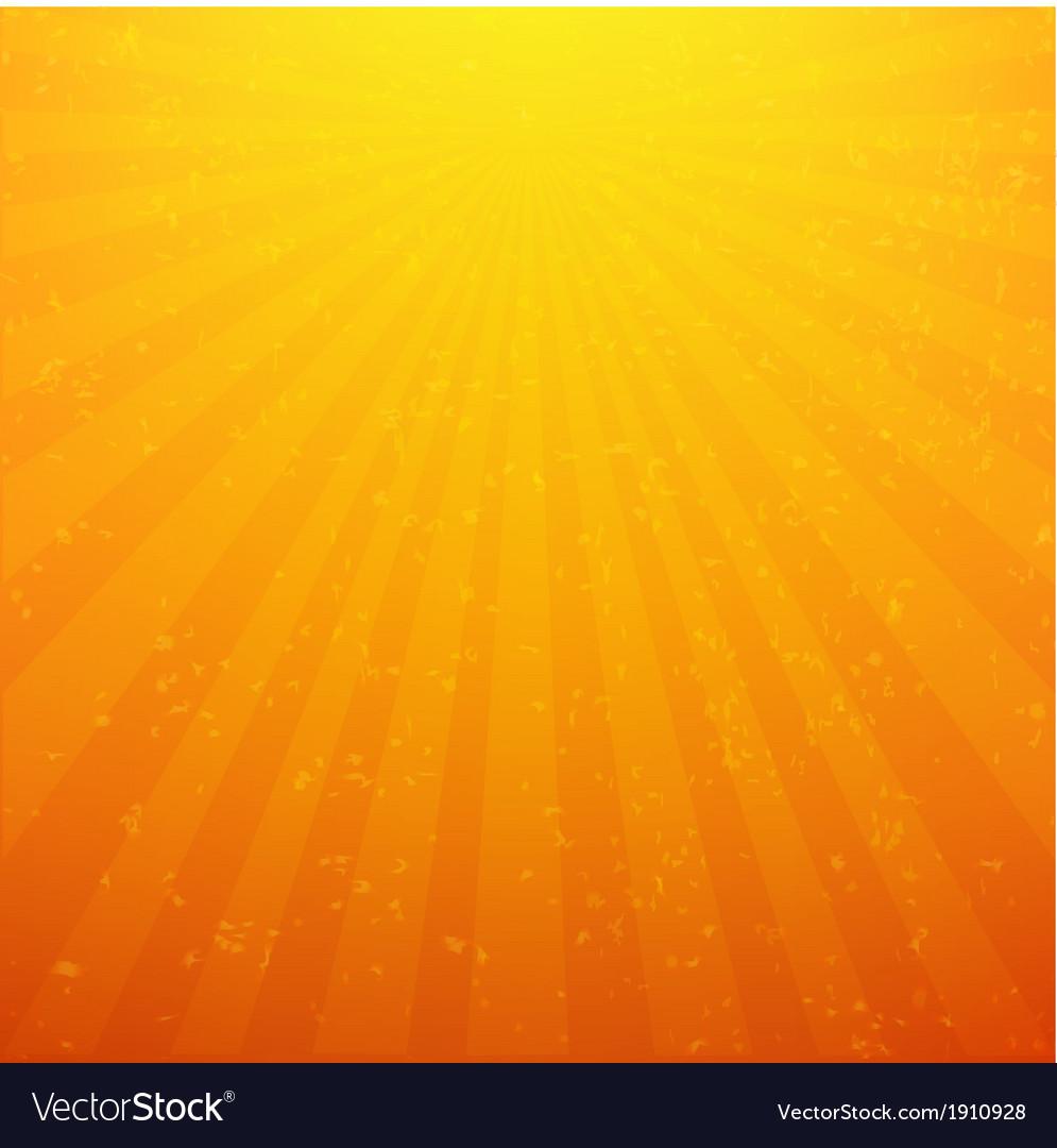 Sunburst Background With Rays vector image