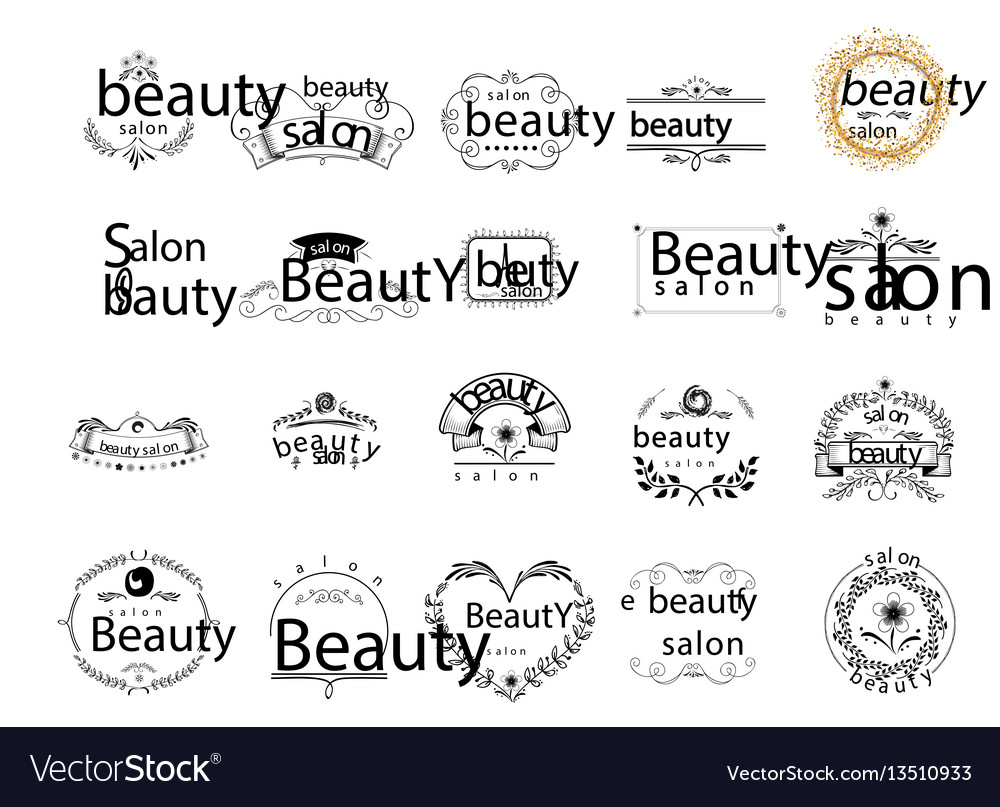 Badge for small businesses - beauty salon sticker