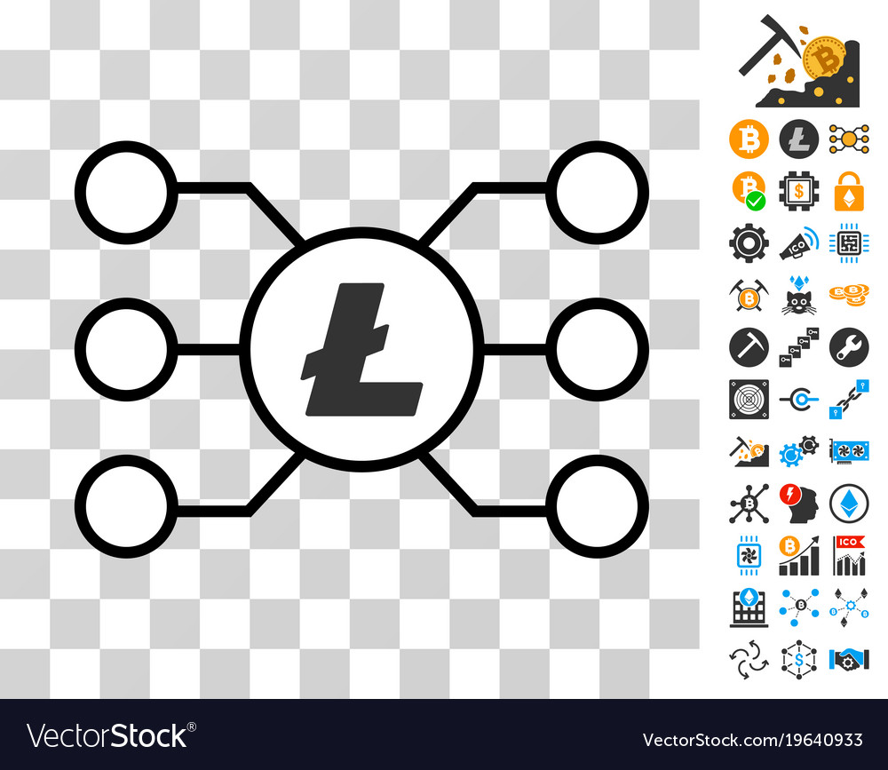 Litecoin masternode links icon with bonus