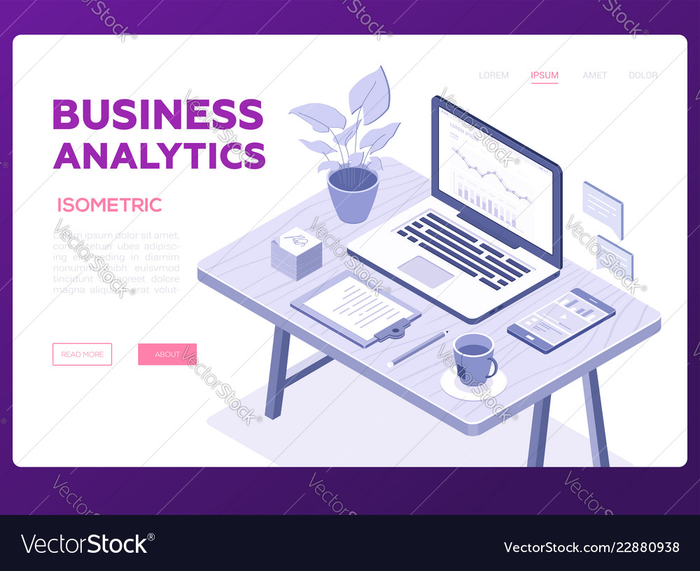 Business Analytic Banners Dice Banners