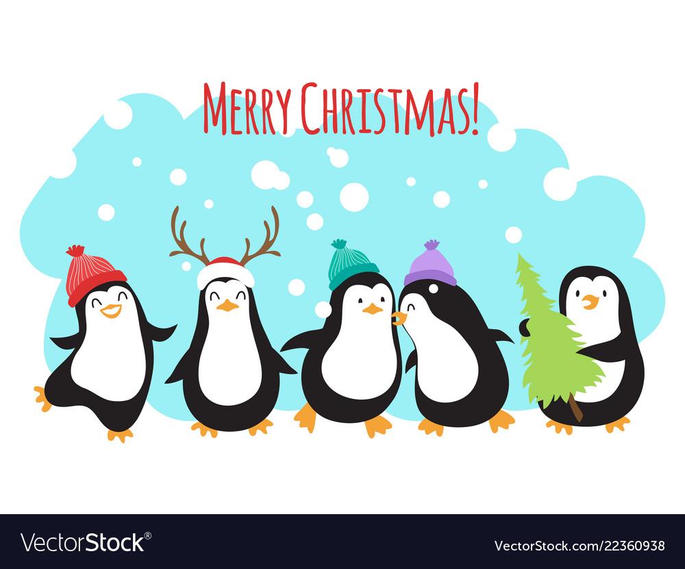 Christmas winter holidays greeting banner