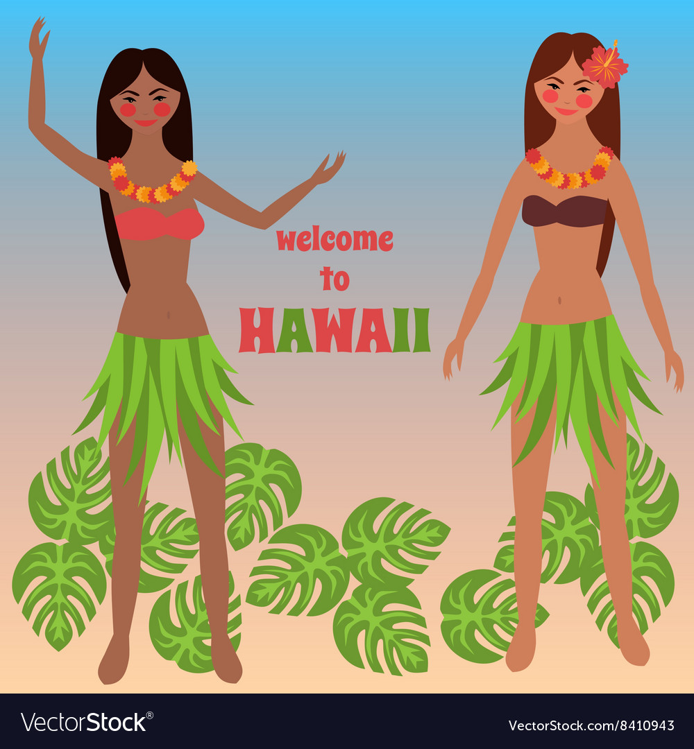 Colorful poster with tropical rest time off on vector image