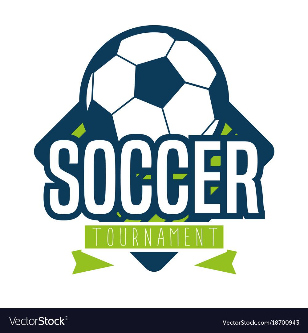 Soccer logo sport