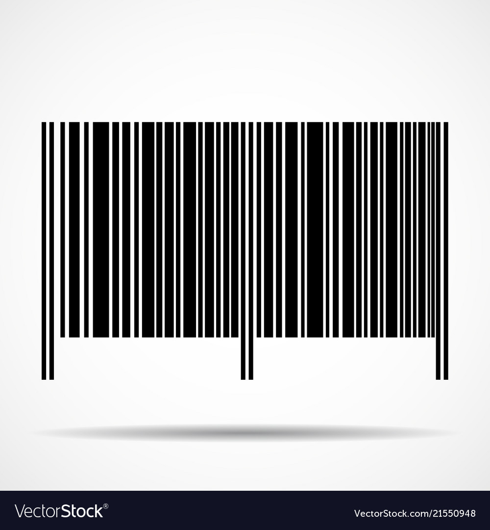 Barcode isolated on white background