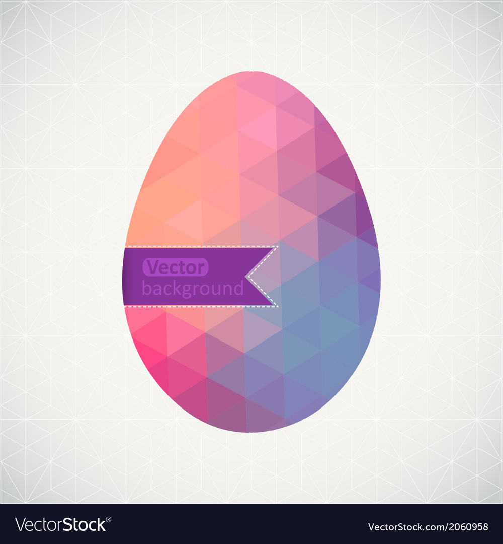 Easter egg made of flowers floral Easter egg