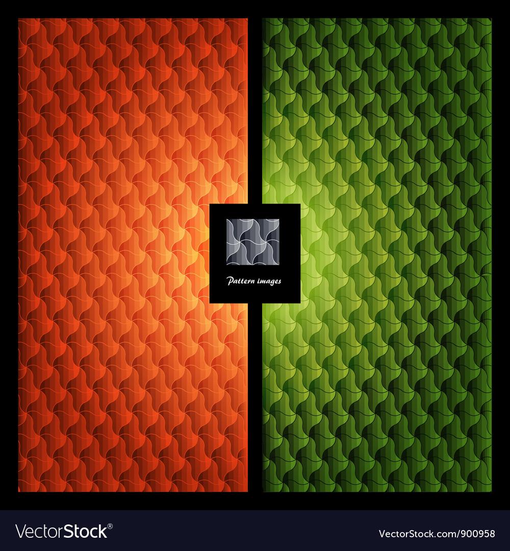 Pattern wallpaper element